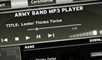 ARMY BAND MP3 PLAYER
