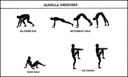 APFT Guerrilla Exercises List