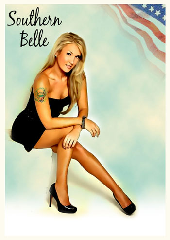 MilitarySpot Pin Up Girl – Belle