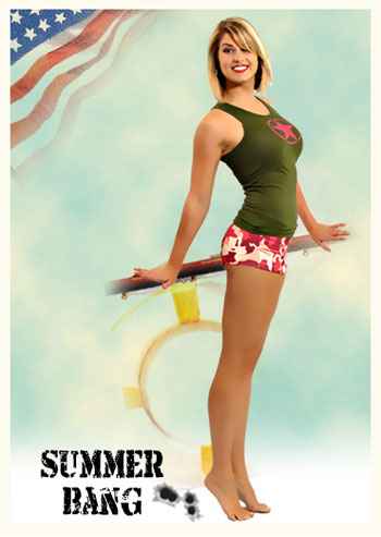 MilitarySpot Pin Up Girl – Bang