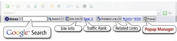 MilitarySpot.com Alexa Toolbar