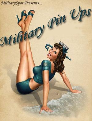 Military Pin Ups