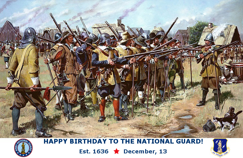 National Guard 379th Birthday