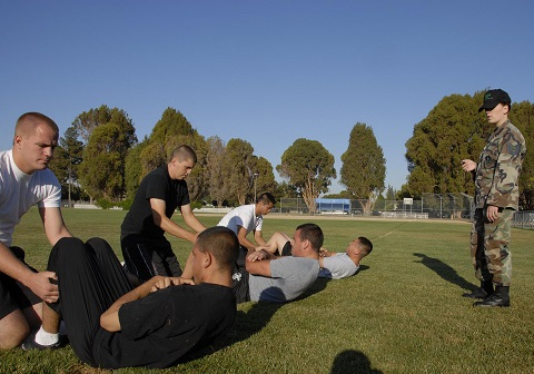 Basic Training for the National Guard