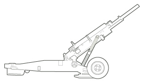 Towed Howitzer (105 mm) M102