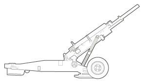 M102 line art