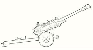 M119 line art
