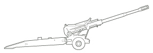 Towed Howitzer (155mm) M198