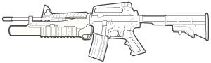 M203/M203A1 Grenade Launcher