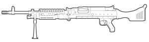 M-240B Machine Gun