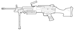 M-249 Squad Automatic Weapon (SAW)