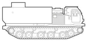 MLRS line art