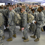 Christmas Exodus for Army Soldiers