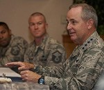 CSAF Listens to Airmen, Discusses Nuclear Enterprise Mission