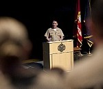 MCPON Speaks at Naval Academy, Makes History