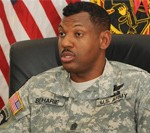 RDECOM Senior NCO Discusses Support for Soldiers