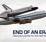 Discovery Flies for Last Time, Ends Chapter in Aerospace History
