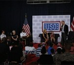 Biden Family Shares Deployment Experiences at USO Event