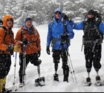5 Wounded Warriors. 4 Good Legs. 3 Wars. 2 Generations. 1 Mountain.