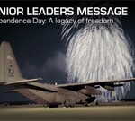 Air Force Leaders Issue Independence Day Message