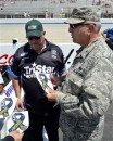 AF Chaplain and NASCAR Team to Help Service Members