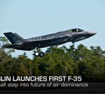 First Flight Launch Means First Step Toward Future Air Dominance