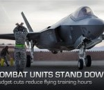 Air Combat Command Stands Down Units Due to Budget Cuts