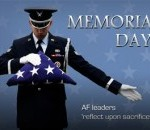 Air Force Leaders Send Memorial Day Message