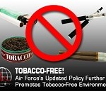 Air Force Updated Policy Further Promotes Tobacco-Free Environments