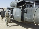 Airmen Deploy in Support of Downed Black Hawk