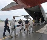 New York Air National Guard Airmen Practice Medical Evacuation at Stratton Air National Guard Base