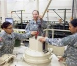 Army Women Qualify for Tank Maintenance Duty