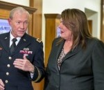 Dempsey Discusses Middle East, U.S. Troop Issues