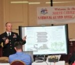 NC Adjutant General Briefs NC Guard Association, Force on Staying Relevant Under Fiscal Challenges