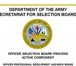 Command Makes Officer Selection Board Training, Mock Board Materials Available Online