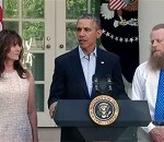 Obama, Parents Give Thanks for Bergdahl's Freedom