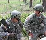 Soldiers Test Leadership Skills to Become Future Army Officers