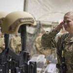 Bagram Honors Fallen Airmen