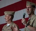 CNO, MCPON Visit Sailors Aboard USS Ronald Reagan