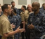 CNO, MCPON Hold Hampton Roads All-Hands Calls