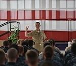 CNO/MCPON Visit Mayport, Jacksonville Sailors