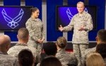 CMSAF Launches Worldwide CHIEFchat, Answers Questions From the Force