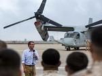 Defense Secretary Visits U.S. Service Members in Spain