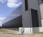 Going Green: Corps Builds Largest Induction Solar Wall in the Country
