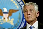 Hagel to Return Part of Salary During Furloughs