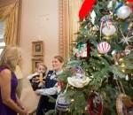 Dr. Jill Biden Hosts a National Guard Christmas Tree Dedication