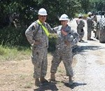 Engineer Brigades Embrace Army Total Force Policy to Complete a 17-Mile Road Construction Project