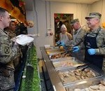 Gen. Grass, Chief Brush visit Afghanistan on Thanksgiving Day