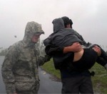 Louisiana Guard Responds to Hurricane Isaac Landfall