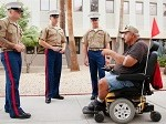 Marines Pay Visit to Phoenix VA Hospital